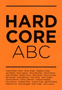 Marc Strömberg - Hardcore ABC zine (Cover Artwork)