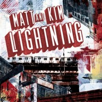 Matt and Kim - Lightning (Cover Artwork)