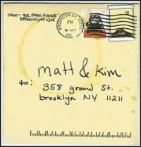 Matt and Kim - To/From (Cover Artwork)