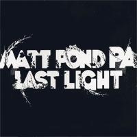 Matt Pond PA - Last Light (Cover Artwork)