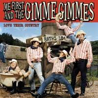 Me First and the Gimme Gimmes - Love Their Country (Cover Artwork)