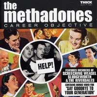 The Methadones - Career Objective (Cover Artwork)