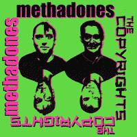 The Methadones / The Copyrights - Split (Cover Artwork)