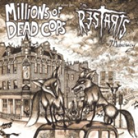 Millions of Dead Cops / The Restarts - Mobocracy (Cover Artwork)