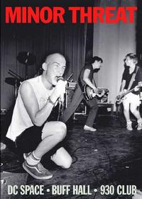 Minor Threat - Live DVD (Cover Artwork)