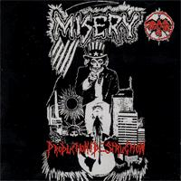 Misery - Production Thru Destruction (Cover Artwork)