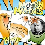 Modern Machines - Thwap! (Cover Artwork)