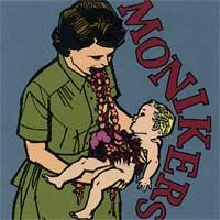 Monikers - Eat Your Young (Cover Artwork)
