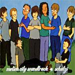 Motion City Soundtrack / Schatzi - split CD (Cover Artwork)