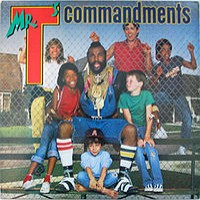Mr. T - Mr. T's Commandments (Cover Artwork)