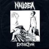 Nausea - Extinction (Cover Artwork)