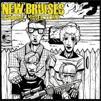 New Bruises - Goodbye Middle Class [7 inch] (Cover Artwork)