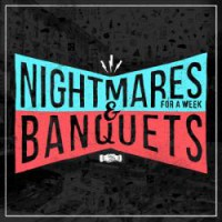 Nightmares For A Week / Banquets - Split [12-Inch] (Cover Artwork)