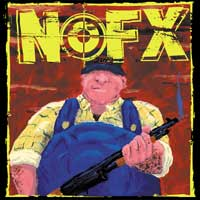 NOFX - 7 Inch Of The Month Club: February (Cover Artwork)