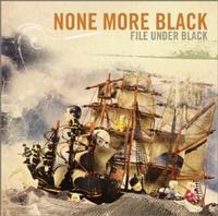None More Black - File Under Black (Cover Artwork)