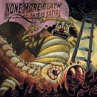None More Black - This Is Satire (Cover Artwork)