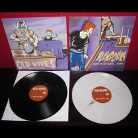 Old Wives / The Blendours - split [12-inch] (Cover Artwork)