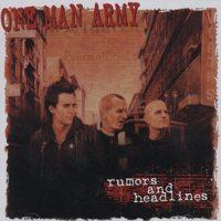 One Man Army - Rumors and Headlines (Cover Artwork)