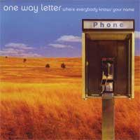 One Way Letter - Where Everybody Knows Your Name (Cover Artwork)