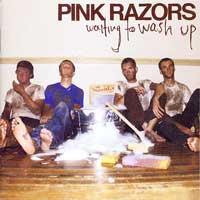 Pink Razors - Waiting to Wash Up (Cover Artwork)