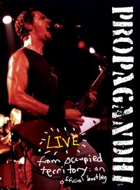 Propagandhi - Live from Occupied Territory: An Official Bootleg DVD (Cover Artwork)