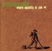 Propagandhi - Where Quantity is Job #1 (Cover Artwork)