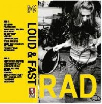 RAD - Loud & Fast (Cover Artwork)