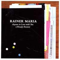 Rainer Maria - Anyone In Love With You (Already Knows) (Cover Artwork)