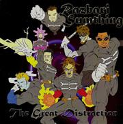 Razbari Sumthing - The Great Distraction (Cover Artwork)