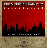 Reacción Direkta - ¿Cuál Democracia? (Cover Artwork)