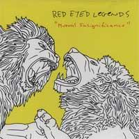 Red Eyed Legends - Mutual Insignificance (Cover Artwork)