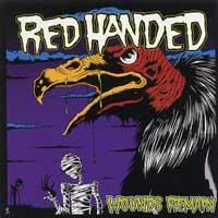 Red Handed - Wounds Remain (Cover Artwork)