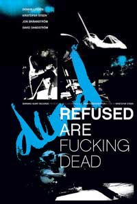 Refused - Refused Are Fucking Dead DVD (Cover Artwork)