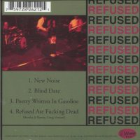 Refused - The New Noise Theology (Cover Artwork)