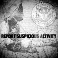Report Suspicious Activity - Report Suspicious Activity (Cover Artwork)