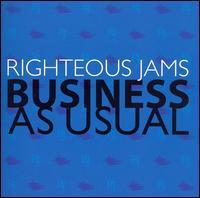 Righteous Jams - Business as Usual (Cover Artwork)