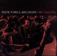 Rock 'N' Roll Soldiers - The Two EPs (Cover Artwork)