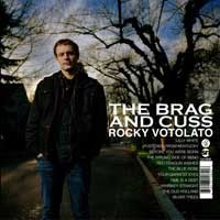 Rocky Votolato - The Brag and Cuss (Cover Artwork)
