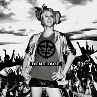 Sabertooth Zombie - Dent Face. [7 inch] (Cover Artwork)