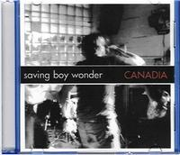 Saving Boy Wonder - Canadia (Cover Artwork)
