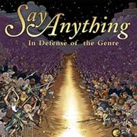 Say Anything - In Defense of the Genre (Cover Artwork)