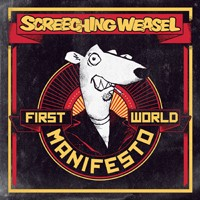 Screeching Weasel - First World Manifesto (Cover Artwork)