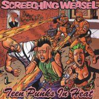 Screeching Weasel - Teen Punks in Heat (Cover Artwork)