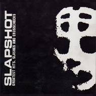 Slapshot - Greatest Hits, Slashes, and Crosschecks (Cover Artwork)