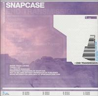 Snapcase - End Transmission (Cover Artwork)