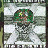 S.O.D. - Speak English Or Die [re-issue] (Cover Artwork)