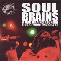 Soul Brains - Live at Maritime Hall (Cover Artwork)