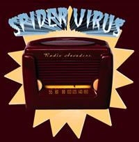 Spider Virus - Radio Invaders (Cover Artwork)