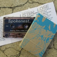 Spokenest - Destroy, Gone, Listen, Lose [Cassette] (Cover Artwork)