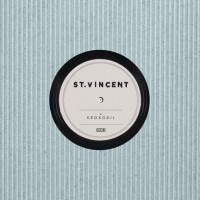 St. Vincent - Krokodil [7-inch] (Cover Artwork)